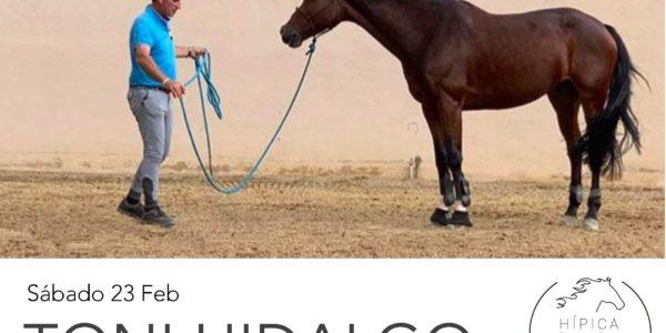 Clínic de Doma Natural con Toni Hidalgo